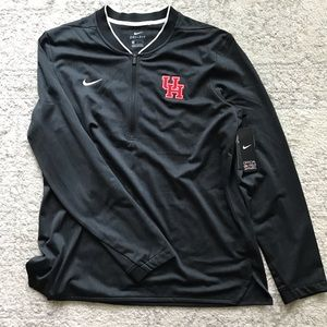Nike half zip coaches jacket